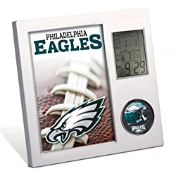 NFL Philadelphia Eagles Desk Clock