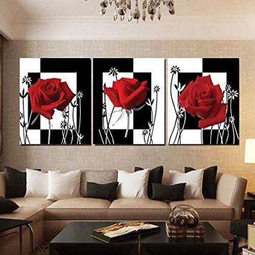 Geiqianjiumai bloemen en wijn voordelig modern natuur dode afbeelding, keuken zonder frame, wandafbeelding op canvas