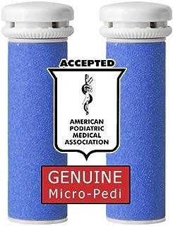 Genuine Emjoi Micro-Pedi Refill Rollers Tough Calluses ( Extra Coarse )