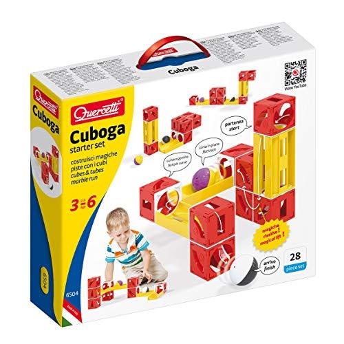 Beluga Spielwaren 6504 Cuboga Basic Würfel-Kugelbahn Quercetti 6504-Cuboga, bunt