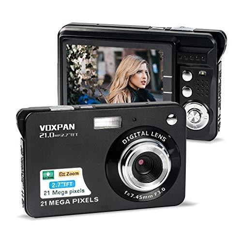 VOXPAN Digitalkamera für Anfänger, 8X...