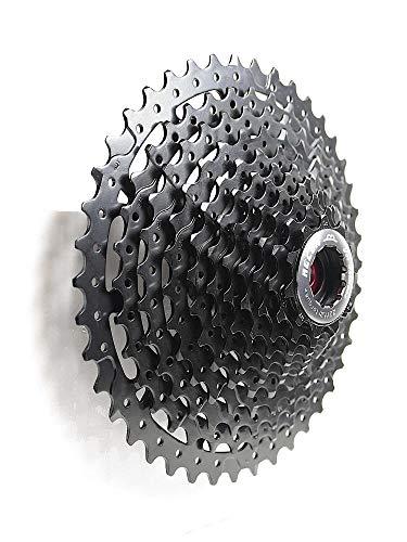 m-bikeparts Feathery Carbon 11-42 - Pignone a 11 velocità, per Shimano XTR Black Star.