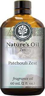 Patchouli Zest Fragrance Oil (60ml) For Diffusers, Soap Making, Candles, Lotion, Home Scents, Linen Spray, Bath Bombs, Slime