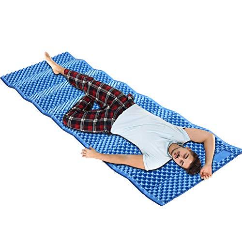 SANGSHI Picknickdecke, Outdoor Camping Matte Tragbare Faltbare Picknick Bett Matratze Reise Trekking Ausrüstung wasserdichte Feuchtigkeitsbeständige Decke