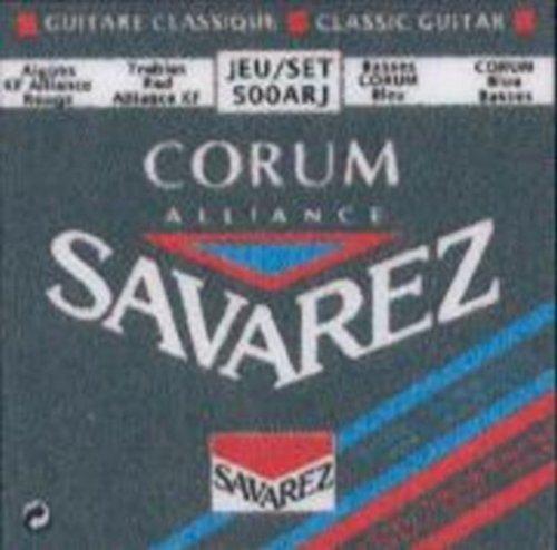 CUERDAS GUITARRA CLASICA - Savarez (500/ARJ) Corum Alliance Roja/Azul (Juego Completo)