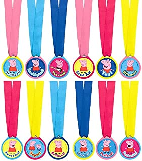 amscan Award Medals | Peppa Pig Collection | Party Accessory