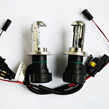 55W HID H4 Hi//Lo Dual Beam Bi-Xenon Motorcycle Bulb Headlight Conversion Kit