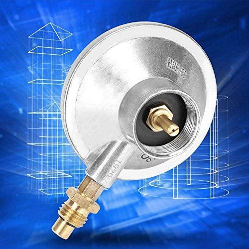 Gmasuber Regulador de parrilla ajustable, regulador de baja presión de aleación de zinc de gas duradero, accesorio de quemador de hilo para barbacoas de camping, fácil de instalar