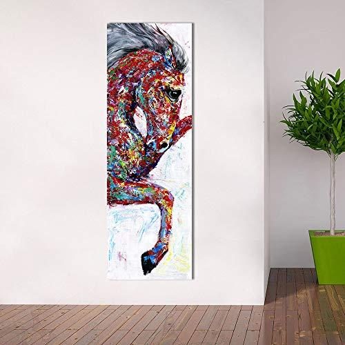 Muurkunst Canvas Schilderij Dier Foto Poster Prints Paard Schilderij Home Decor Geen Frame Schilderij 8x24