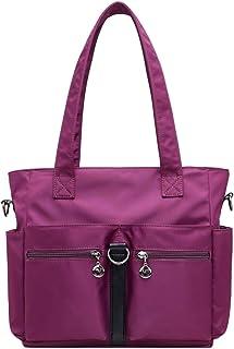 Wultia - Bags for Women Fashion Casual Nylon Single Shoulder Crossbody Bag Totes Waterproof Bags Handbags Bolsa Feminina *0.92 Purple