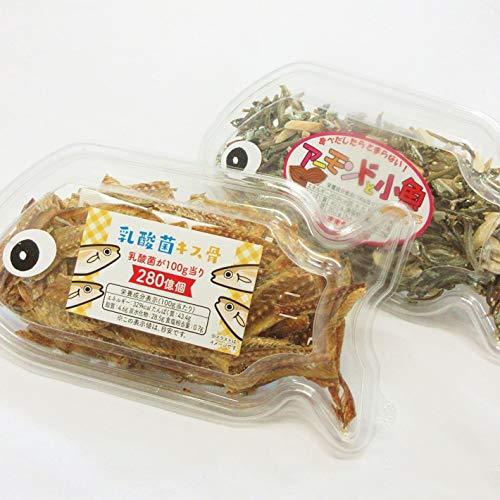 乳酸菌 キス骨 40gx1 アーモンド小魚 75gx1 個包装 骨せんべい おつまみ ギフト
