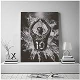 Swarouskll Wayne Rooney Poster und Druck Leinwand Bild