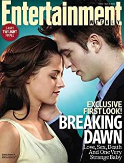 Robert Pattinson and Kristen Stewart Cover Entertainment Weekly Magazine May 6, 2011 - Breaking Dawn Exclusive First Look!