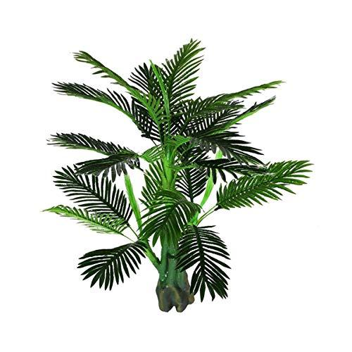 LIBILAA Simulatie Van Zonnebloem Boom Simulatie Plant Groene Plant Binnen En Buiten Nep Palm Boom