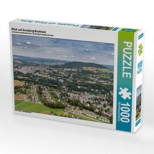 CALVENDO Puzzle Blick auf Annaberg-Buchholz 1000 Teile Lege-Größe 64 x 48 cm Foto-Puzzle Bild von Christian Kuhnert