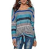 Tops Camisetas Mujer Otoño e Invierno Blusas para Mujer Vaq