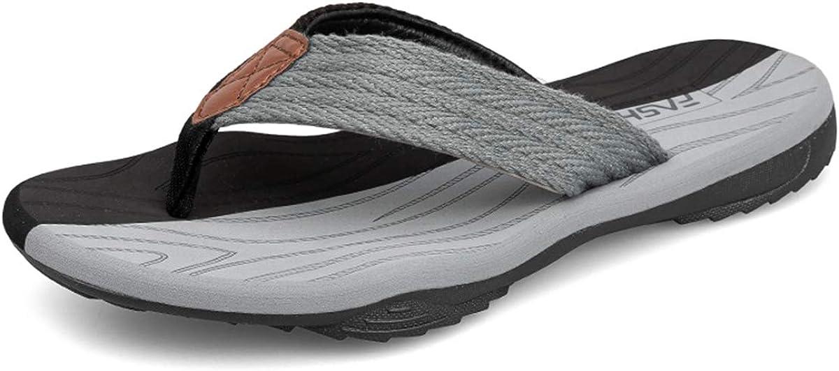 ChayChax Chanclas Hombre Deportivas Sandalias de Playa y Piscina Suave Zapatillas Antideslizante Verano Flip Flops