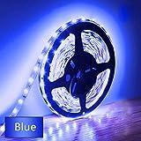 Eksave 5M LED Strip Lights Blue 300 Unidades SMD 5630 12V Striplight de baja tensión Cinta LED no impermeable Iluminación de...