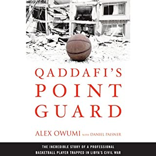 Couverture de Qaddafi's Point Guard