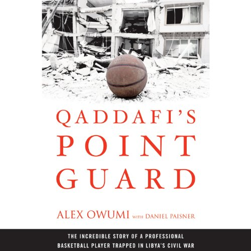 Qaddafi's Point Guard audiobook cover art