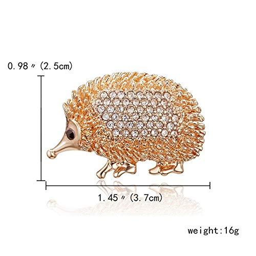 Crystal Vintage Snail Frog Brooches Pins Cute Kangroo Giraffe Animal Brooches for Women Pin Fashion Dress Coat Accessories-Ciwei