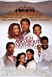 Much Ado About Nothing Poster Movie 11x17 Kenneth Branagh Emma Thompson Keanu Reeves Kate Beckinsale
