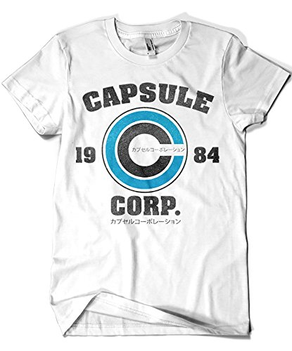 2231-Camiseta Premium, Capsule Corp (Melonseta) L