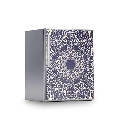creatisto Kühlschrank Folie I Dekofolie für Kühlschranktür - Sticker Folie selbstklebend I Dekoration Küche - Design: Blue Mandala