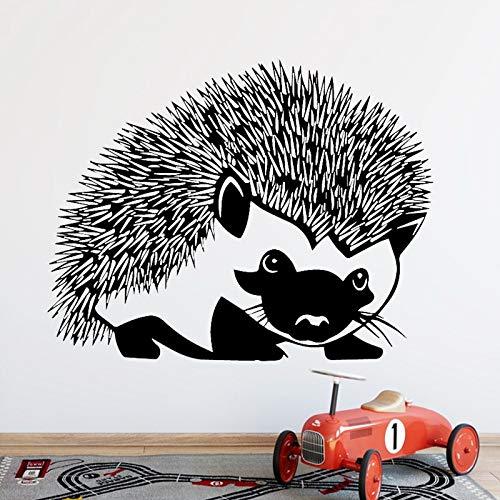 Creative Life Wall Sticker Hedgehog Wall Sticker Décoration de la Maison Vinyle Wall Sticker Animal Hedgehog,CJX10509-58x75cm
