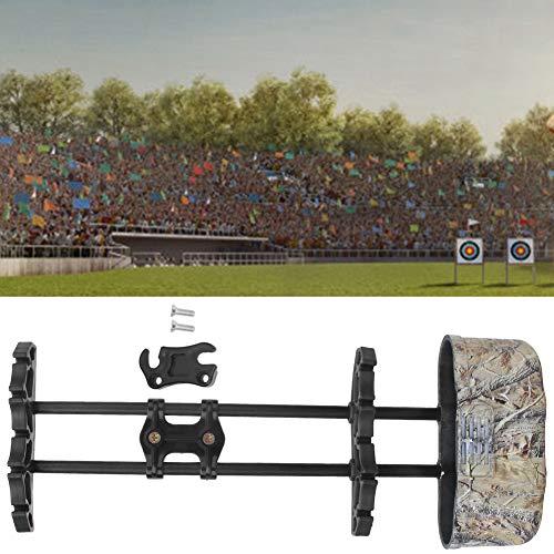 Mxtech Caja de Flecha ABS, Soporte para carcaj de Flecha, carcaj de Arco Compuesto, liberación rápida para Almacenamiento de Flechas Suministro de Tiro con Arco Tiro con Arco fácil de(Camouflage)