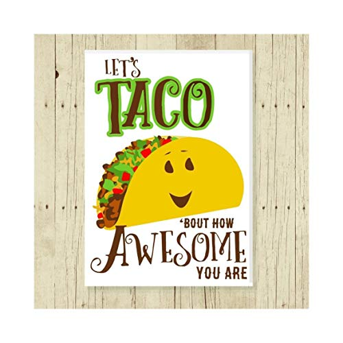Taco Magnet Celebration Gift 2.5 x 3.5