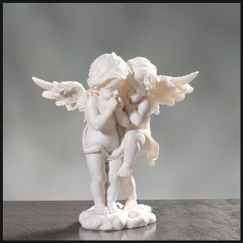 pajoma Engelpärchen aus Kunstharz, H 26 cm
