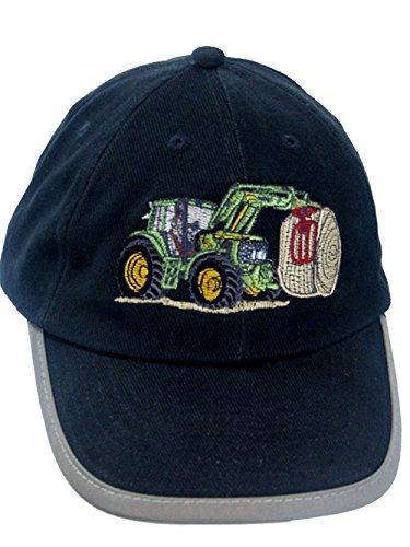 Zintgraf Security Baseball Kappe Sicherheits Cap Stickerei Traktor Ballenzange C11 (Blau)