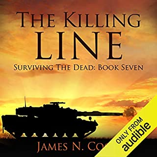 The Killing Line audiobook cover art