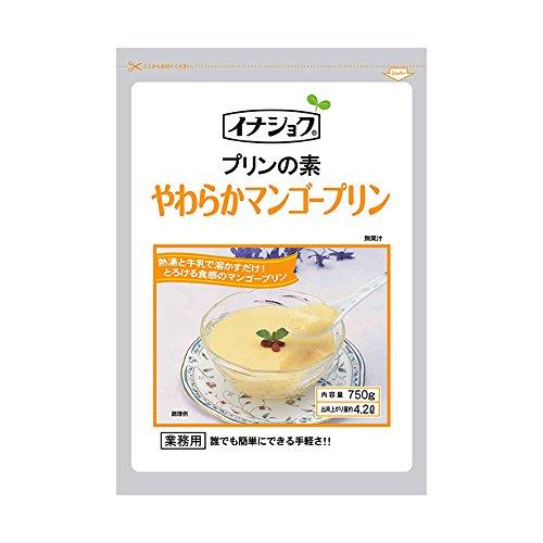 イナショク 手作り飲茶 やわらかマンゴープリンの素(750g)