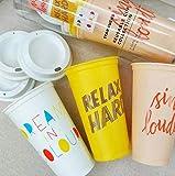 Starbucks Colección de tazas reutilizables 6 tazas con tapas