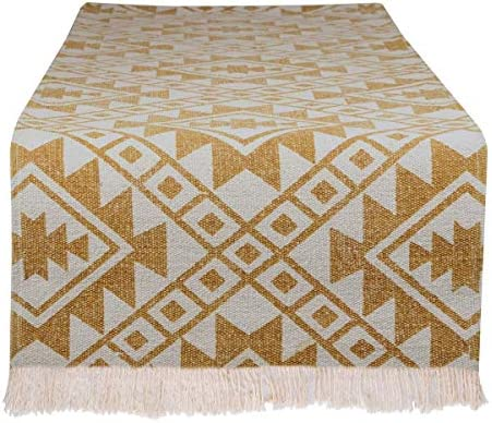 Table Runner for Dining Table Washable Boho Table Runner 100 Cotton Indoor Outdoor Modern Everyday product image