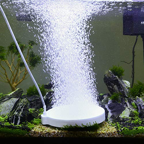 UPETTOOLS Aquarium Air Stones, Fish Tank Bubbler, Nano Silent Bubble Stone, Super-High Dissolved...