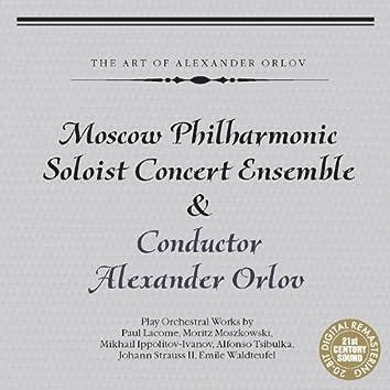 Moscow Philharmonic Soloist Concert Ensemble Plays Lacome, Moszkowski & Strauss II