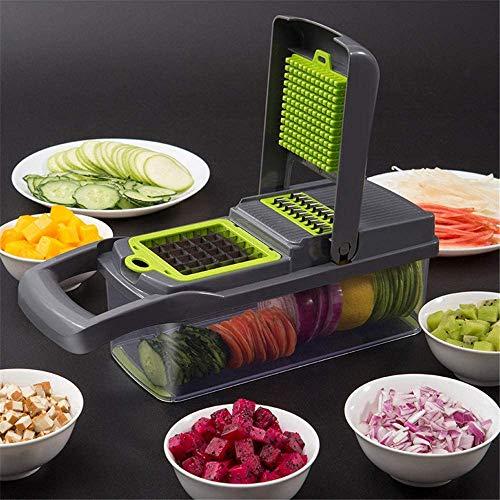 Groenten en fruit Gereedschap Grinder wortel aardappel Knoflook Vlees Chopper salade Machine Kitchen Gadget 8bayfa