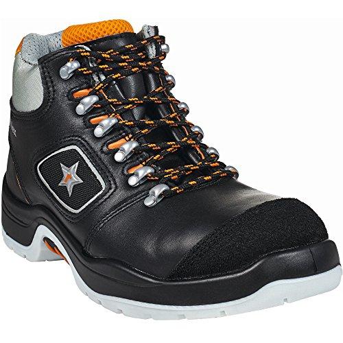 RuNex 5308 S3 - Zapatos de seguridad con tapa de aluminio, talla 47, color negro