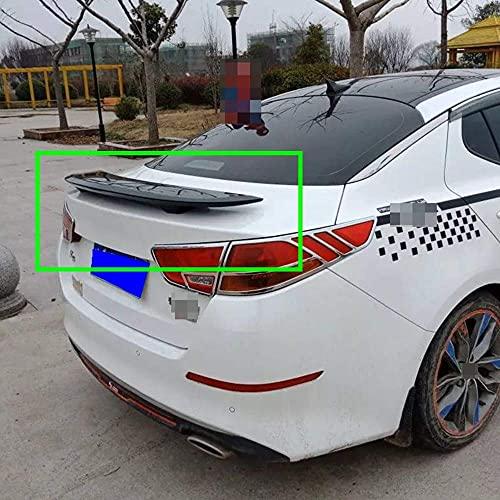 Alerón trasero de ABS para coche, alerón estándar para puerta trasera, techo, trasero, maletero, labio, parabrisas, apto para Kia Optima K5 2011-2017 2012 2013 2014 2015 2016, accesorios de modif