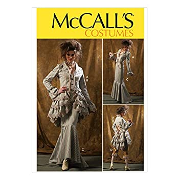 McCall Pattern Company M6770 Misses  Jacket Bustle/Capelet Skirt and Pants Sewing Template Size D5  12-14-16-18-20