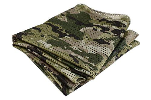 QHIU Tactico Bufanda Multifunción Bragas de Cabeza Militar Camo Head Cara Abrigo Bufanda para Camping Paintball Escalada Unisex Hombre Mujer
