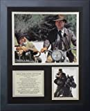 """Legends Never Die """"Indiana Jones The Last Crusade Framed Photo Collage, 11 x 14-Inch"""