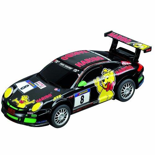 Carrera Go - 20061288 - Radio Commande, Véhicule Miniature et Circuit - Porsche GT3 - Haribo Racing - No.8