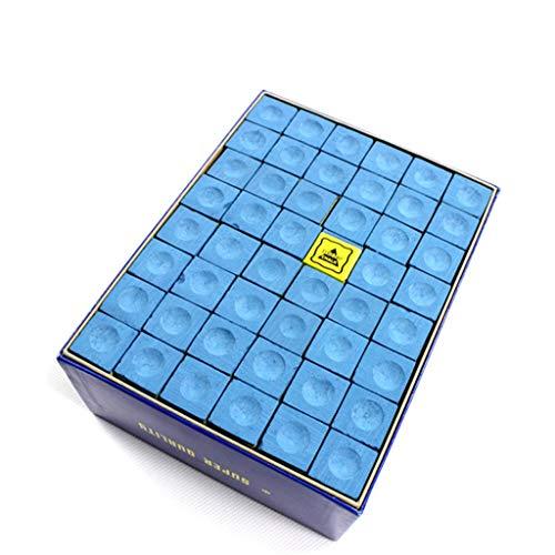 WXS Tizas de Billar, 144 Piezas de carbonato de Calcio Antideslizante Pool Pool Cue Tip Talk Snooker Tiza for Pool de Billar Snooker (Color : A)
