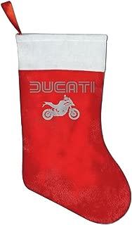 Ducati Multistrada Christmas Stocking Red Xmas Socks
