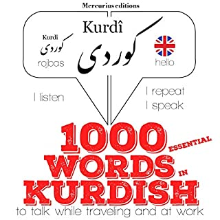 1000 essential words in Kurdish cover art