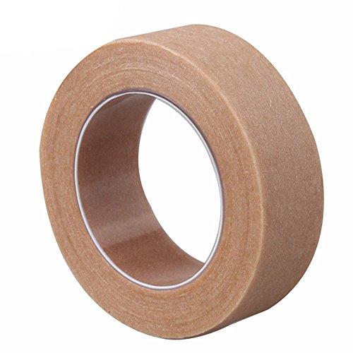 Kcopo Kraftpapier Tape Sealing Bilderrahmen Wasser Aktiviert Kraftpapier Band Aquarellpapier Klebstoff Einseitig Klebeband Kraftpapier für die Bindung von papierbasierten Produkten oder 30M